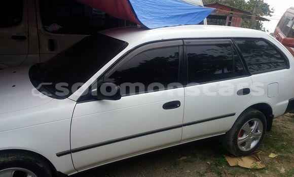 Buy Used Toyota Corolla White Car in Honiara in Guadalcanal