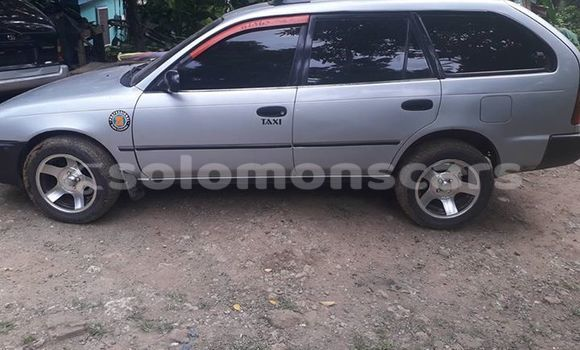 Buy Used Toyota Corolla Silver Car in Honiara in Guadalcanal