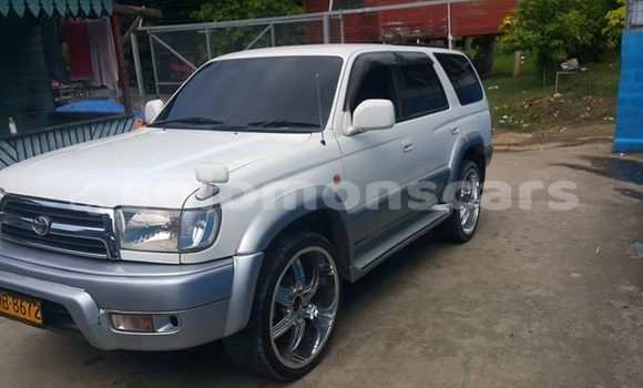 Buy Used Toyota Hilux Surf White Car in Honiara in Guadalcanal