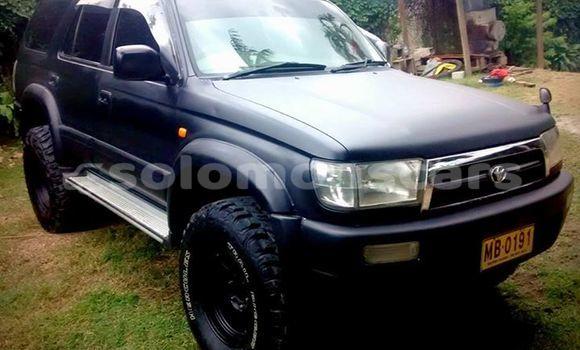 Buy Used Toyota Hilux Surf Black Car in Honiara in Guadalcanal
