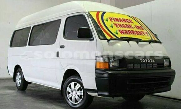 Buy Used Toyota Hiace White Car in Honiara in Guadalcanal