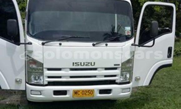 Buy Used Isuzu NPR White Car in Honiara in Guadalcanal