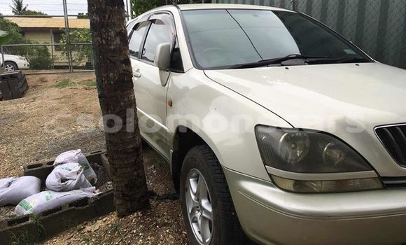 Buy Used Toyota Harrier White Car in Honiara in Guadalcanal