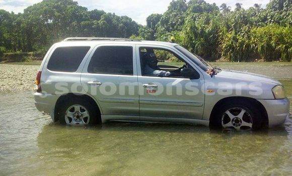 Buy Used Mazda Tribute Silver Car in Honiara in Guadalcanal
