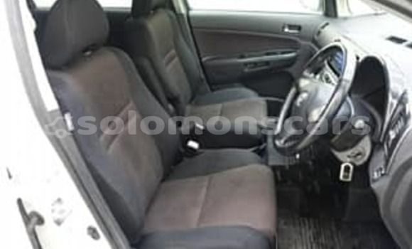 Buy Used Toyota Wish White Car in Honiara in Guadalcanal