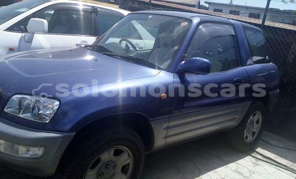 Buy Used Toyota RAV4 Blue Car in Honiara in Guadalcanal