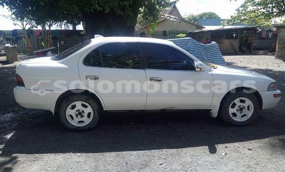 Buy Used Toyota Corolla White Car in Honiara in Guadalcanal