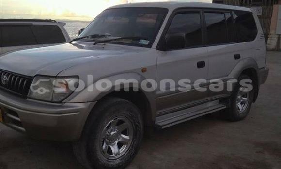 Buy Used Toyota Prado White Car in Honiara in Guadalcanal