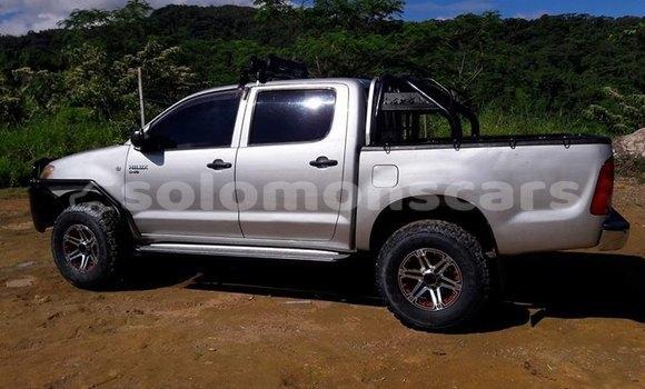 Buy Used Toyota Hilux Silver Car in Honiara in Guadalcanal