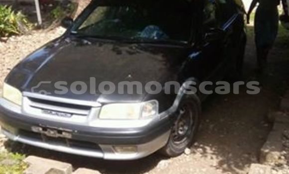 Buy Used Toyota Caldina Black Car in Honiara in Guadalcanal