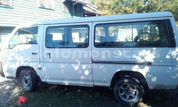 Buy Used Nissan Caravan White Car in Honiara in Guadalcanal