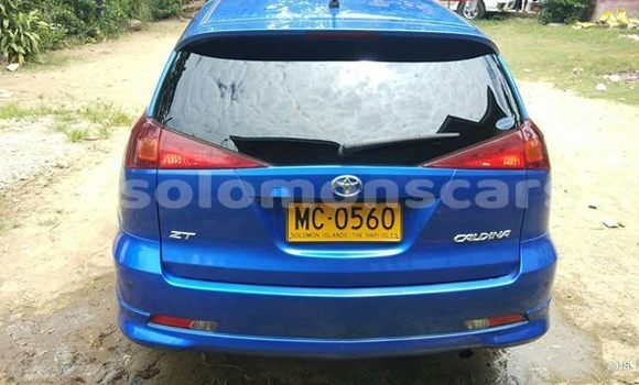 Buy Used Toyota Caldina Blue Car in Honiara in Guadalcanal