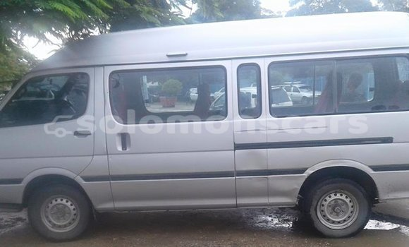 Buy Used Toyota Hiace Silver Car in Honiara in Guadalcanal