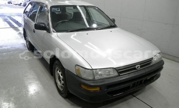 Buy Used Toyota Corolla Verso Silver Car in Honiara in Guadalcanal