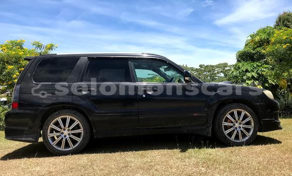 Buy Used Subaru Forester Black Car in Honiara in Guadalcanal