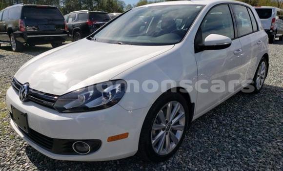 Buy Import Volkswagen Golf White Car in Honiara in Guadalcanal