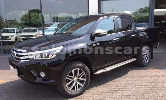 Buy Used Toyota Hilux Black Car in Honiara in Guadalcanal