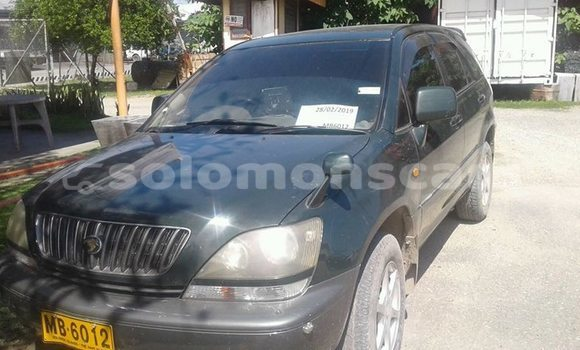 Buy Used Toyota Harrier Other Car in Taro Island in Choiseul
