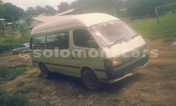 Buy Used Toyota Hiace Other Car in Nendo in Temotu