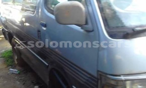 Buy Used Toyota Hiace Other Car in Taro Island in Choiseul